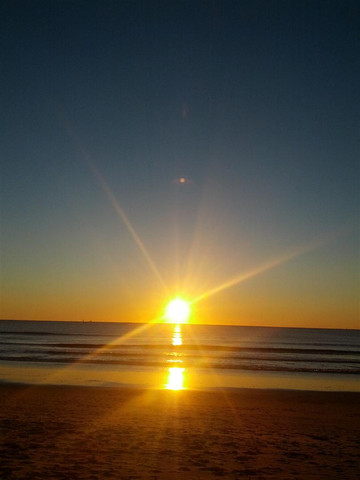 Sunrise on the Sunshine Coast